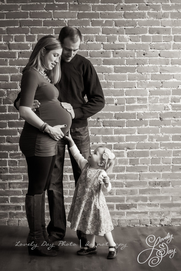 Maternity portrait photography