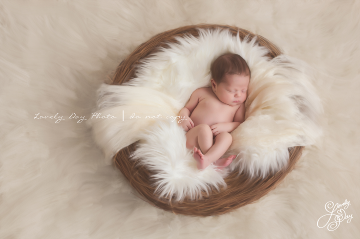 Lovely Day Photo - Newborn Portrait