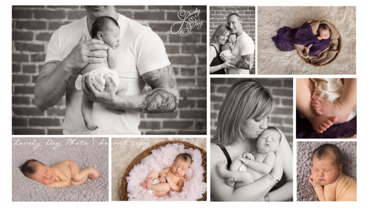 Newborn Photography Lovely Day Photo