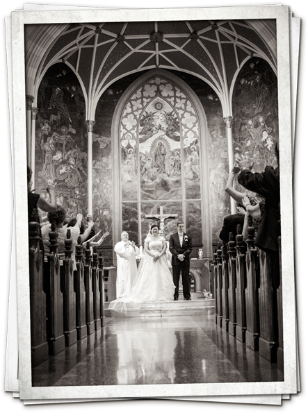 Lovely Day Photo - Buffalo Church Wedding - St. Josephs