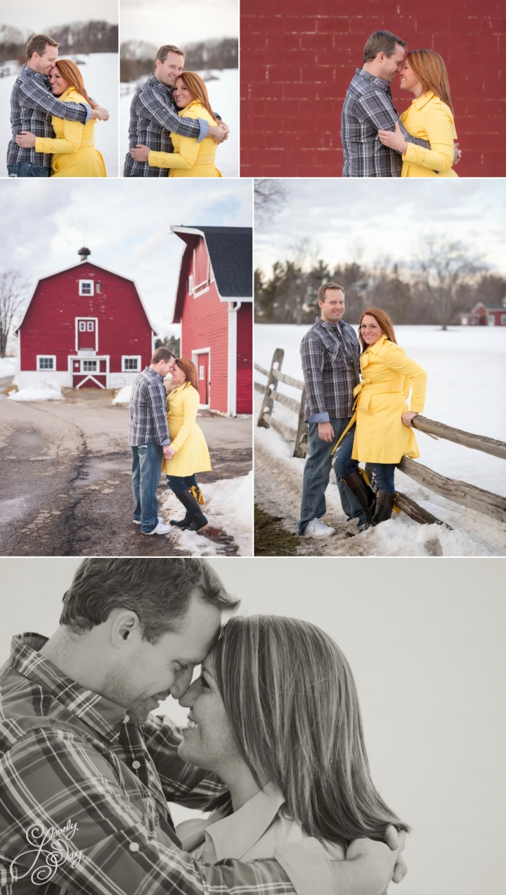 Buffalo, NY Engagement Session at Knox Farm  | Lovely Day Photo