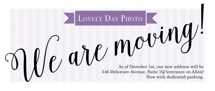Moving notice for Lovely Day Photo in Buffalo New York
