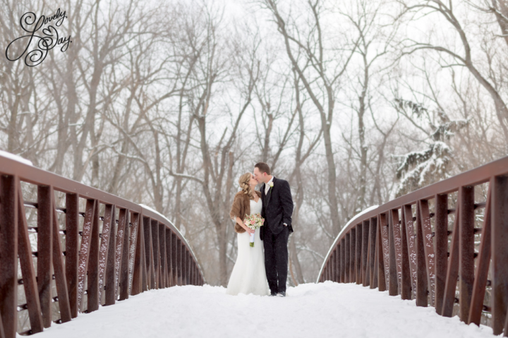 Winter wedding in Buffalo New York